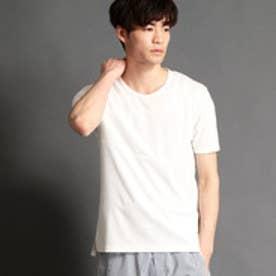 HIDEAWAYS ブロッキングクルーネックTシャツ (09ホワイト)