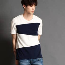 HIDEAWAYS ブロッキングクルーネックTシャツ (91その他2)