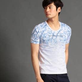 HIDEAWAYS プリントクルーネックTシャツ (92その他3)