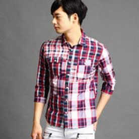 ハイダウェイ HIDEAWAYS クレイジーパターンシャツ (91その他2)
