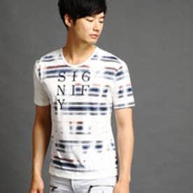ハイダウェイ HIDEAWAYS ロゴ&チェックプリントTシャツ (91その他2)
