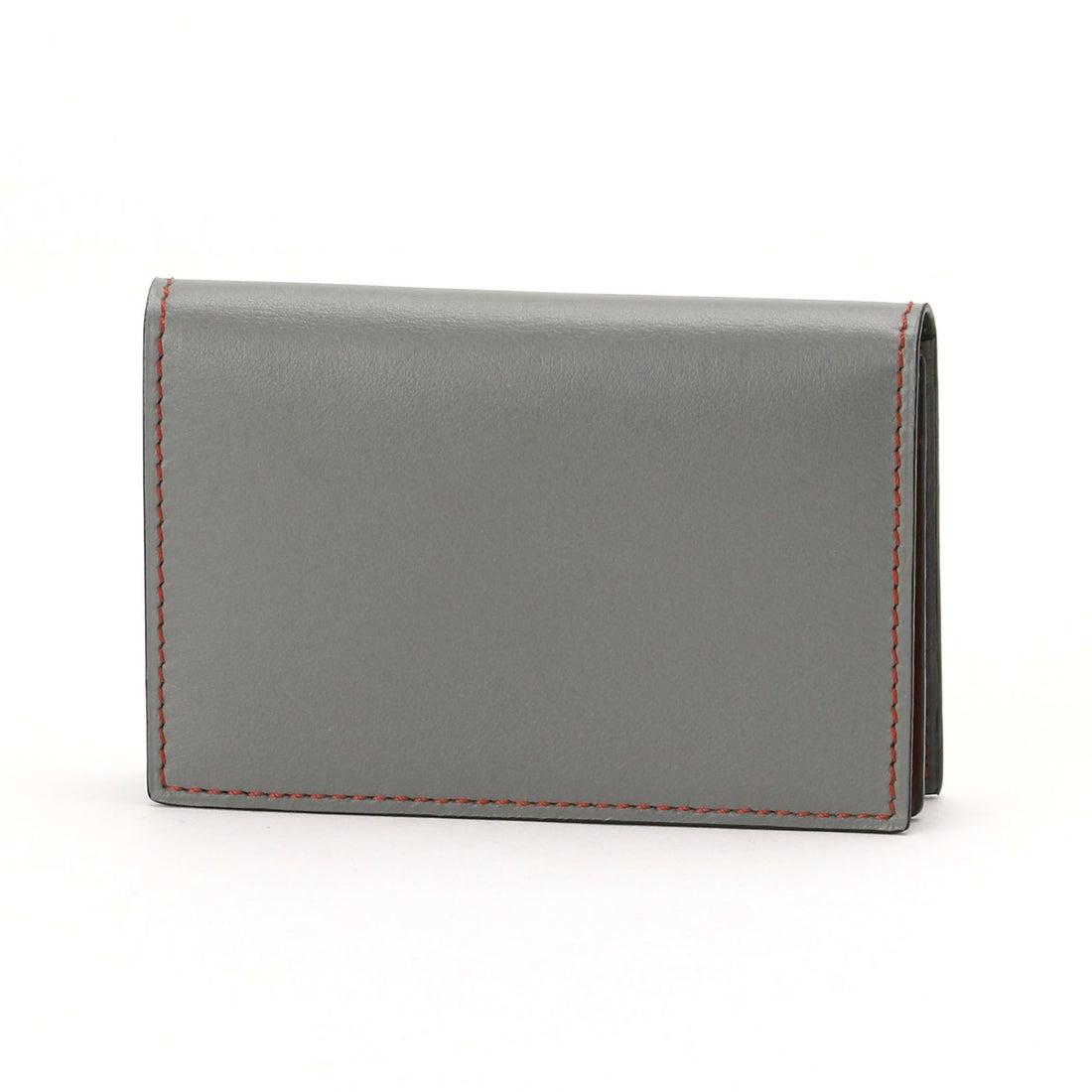 ムッシュ ニコル MONSIEUR NICOLE 配色2つ折りカードケース (29グレー)