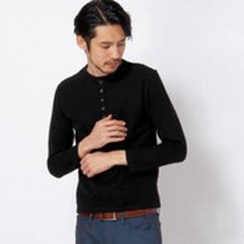 ムッシュ ニコル MONSIEUR NICOLE ヘンリーネックTシャツ (49ブラック)