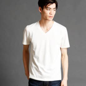 ムッシュ ニコル MONSIEUR NICOLE 【ex/tra】VネックスウェットTシャツ (09ホワイト)