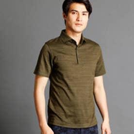ムッシュ ニコル MONSIEUR NICOLE インディゴ風ポロシャツ (46カーキ)