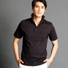 ムッシュ ニコル MONSIEUR NICOLE インディゴ風ポロシャツ (49ブラック)