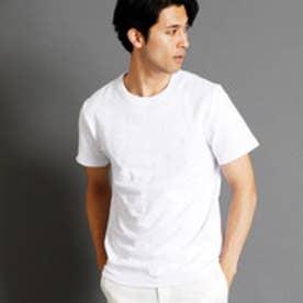 ムッシュ ニコル MONSIEUR NICOLE カモフラージュ柄クルーネックTシャツ (09ホワイト)