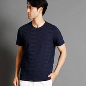 ムッシュ ニコル MONSIEUR NICOLE カモフラージュ柄クルーネックTシャツ (67ネイビー)