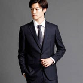 ムッシュ ニコル MONSIEUR NICOLE シャドーヘリンボーン柄スーツ (67ネイビー)