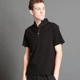 ムッシュ ニコル MONSIEUR NICOLE スタンドポロシャツ (49ブラック)