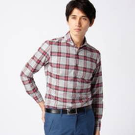 ムッシュ ニコル MONSIEUR NICOLE タータンチェックシャツ (29グレー)