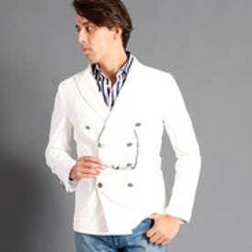 ムッシュ ニコル MONSIEUR NICOLE カモフラジャカードジャケット (09ホワイト)
