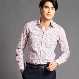 ムッシュ ニコル MONSIEUR NICOLE フラワープリントシャツ (88ラベンダー)