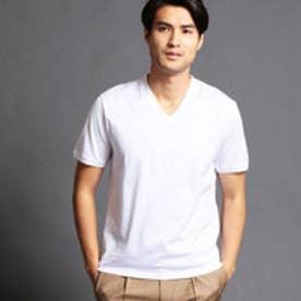 ムッシュ ニコル MONSIEUR NICOLE シルケットTシャツ (09ホワイト)