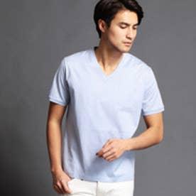 ムッシュ ニコル MONSIEUR NICOLE シルケットTシャツ (64サックス)