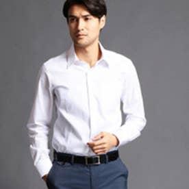 ムッシュ ニコル MONSIEUR NICOLE セミワイドカラードレスシャツ (09ホワイト)