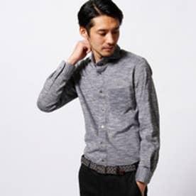 ムッシュ ニコル MONSIEUR NICOLE 【ex/tra】MONTIカッタウェイシャツ (49ブラック)