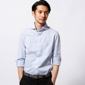 ムッシュ ニコル MONSIEUR NICOLE 【ex/tra】MONTIカッタウェイシャツ (60ブルー)