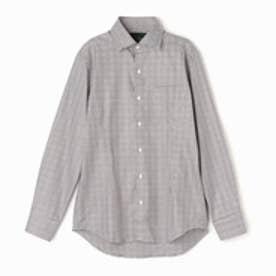 ムッシュ ニコル MONSIEUR NICOLE 総柄ドレスシャツ (13ブラウン)