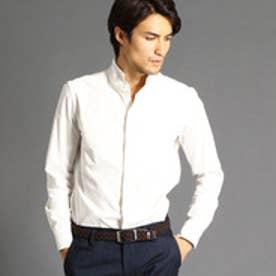 ムッシュ ニコル MONSIEUR NICOLE コーデュロイスタンドカラーシャツ (09ホワイト)