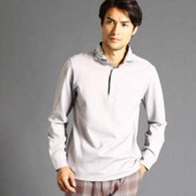 ムッシュ ニコル MONSIEUR NICOLE 【ex/tra】ロングスリーブポロシャツ (19ライトグレー)