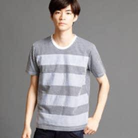 ニコルクラブフォーメン NICOLE CLUB FOR MEN 切り替えクルーネックTシャツ (91その他2)