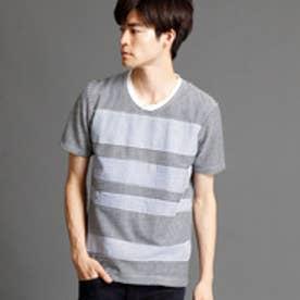 ニコルクラブフォーメン NICOLE CLUB FOR MEN 切り替えクルーネックTシャツ (93その他4)