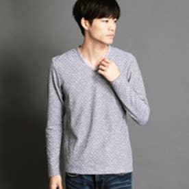 ニコルクラブフォーメン NICOLE CLUB FOR MEN VネックロングTシャツ (49ブラック)