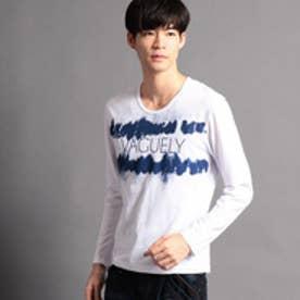 ニコルクラブフォーメン NICOLE CLUB FOR MEN アラカルトプリント長袖Tシャツ (93その他4)