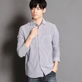 ニコルクラブフォーメン NICOLE CLUB FOR MEN ホリゾンタルカラー長袖カットシャツ (09ホワイト)