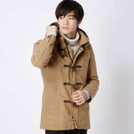 ニコルクラブフォーメン NICOLE CLUB FOR MEN 中綿キルティング入りダッフルコート (15キャメル)
