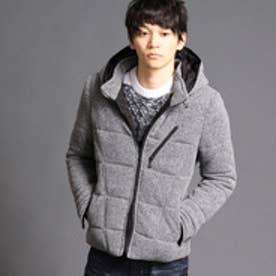 ニコルクラブフォーメン NICOLE CLUB FOR MEN 中綿入りフリースブルゾン (29グレー)