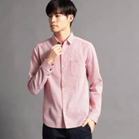 ニコルクラブフォーメン NICOLE CLUB FOR MEN ショートレギュラーカラーシャツ (01レッド)