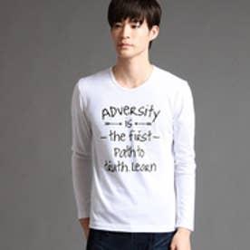 ニコルクラブフォーメン NICOLE CLUB FOR MEN アラカルトプリントロングスリーブTシャツ (91その他2)