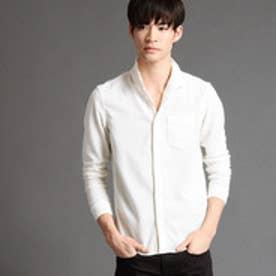 ニコルクラブフォーメン NICOLE CLUB FOR MEN イタリアンカラーカットシャツ (09ホワイト)