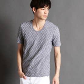 ニコルクラブフォーメン NICOLE CLUB FOR MEN リンクス半袖UネックTシャツ (49ブラック)