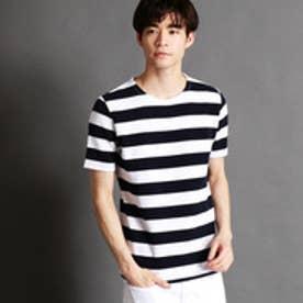 ニコルクラブフォーメン NICOLE CLUB FOR MEN リップルボーダーTシャツ (91その他2)