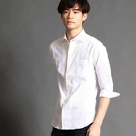 ニコルクラブフォーメン NICOLE CLUB FOR MEN ショートレギュラーカラーシャツ (09ホワイト)