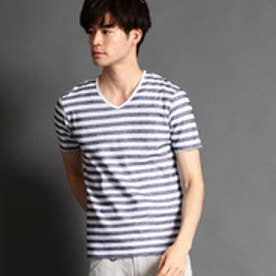 ニコルクラブフォーメン NICOLE CLUB FOR MEN カノコボーダー半袖Tシャツ (91その他2)