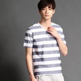 ニコルクラブフォーメン NICOLE CLUB FOR MEN カノコボーダー半袖Tシャツ (92その他3)