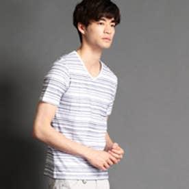 ニコルクラブフォーメン NICOLE CLUB FOR MEN カノコボーダー半袖Tシャツ (94その他5)
