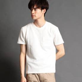 ニコルクラブフォーメン NICOLE CLUB FOR MEN クルーネックTシャツ (09ホワイト)