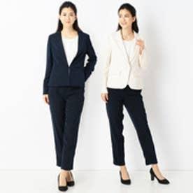 SELECTION LADYS スーツ3点セット (28オフホワイト)