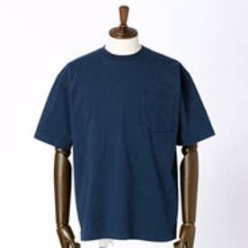 ヴィタル ムッシュ ニコル vital MONSIEUR NICOLE CAMBER(キャンバー)ポケット付きベーシックTシャツ (67ネイビー)