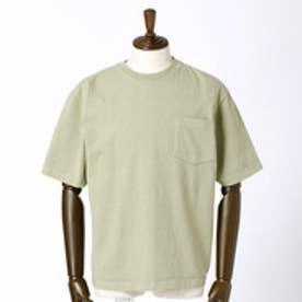 ヴィタル ムッシュ ニコル vital MONSIEUR NICOLE CAMBER(キャンバー)ポケット付きベーシックTシャツ (46カーキ)