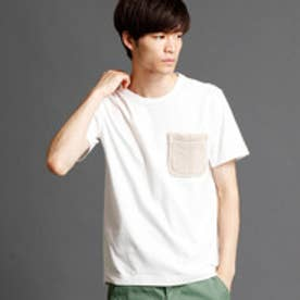 ヴィタル ムッシュ ニコル vital MONSIEUR NICOLE ボアポケットTシャツ (09ホワイト)