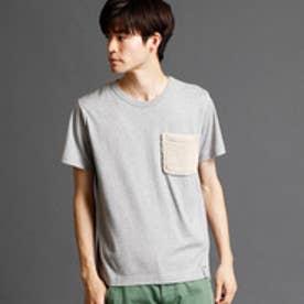 ヴィタル ムッシュ ニコル vital MONSIEUR NICOLE ボアポケットTシャツ (29グレー)