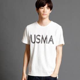ヴィタル ムッシュ ニコル vital MONSIEUR NICOLE ロゴプリントTシャツ (09ホワイト)