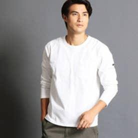 ヴィタル ムッシュ ニコル vital MONSIEUR NICOLE 無地長袖Tシャツ (09ホワイト)