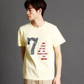 ヴィタル ムッシュ ニコル vital MONSIEUR NICOLE ナンバリングTシャツ (20イエロー)